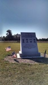 Union monument at Bentonville.