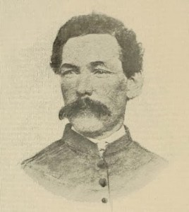 Lt. Col. John W. Crosby, 61st Pennsylvania, was mortally wounded by the Confederate picket fire