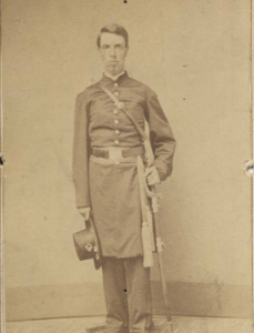 Lieutenant Hiram Clark, 185th New York