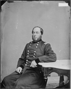 Brig. Gen. Lewis A. Grant, whose six Vermont regiments were to spearhead the assault, was wounded in the head during by the Confederate picket fire