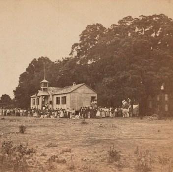 Laura Towne, Ellen Murray, and Charlotte Forten's Penn School.