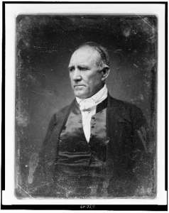 Sam Houston. Courtesy of the Library of Congress.