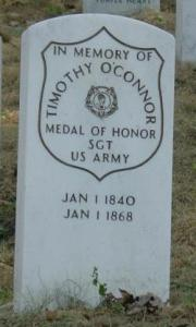 O'Connor's grave in Arlington National Cemetery.