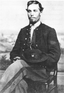 Thomas Owen was standing next to Perkins when the Captain was killed. Owen then accompanied the body home to Athens, Pennsylvania.