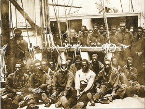 Contraband on the USS Vermont, 1862