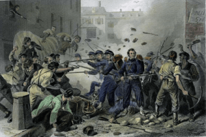 Attack on the 6th Massachusetts
