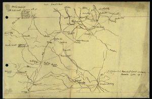 Map of the Bristoe Station Campaign by Maj. David McIntosh Courtesy of the Virginia Historical Society