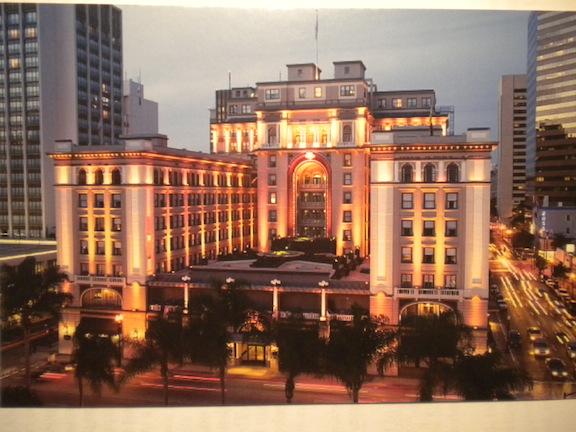 The U.S. Grant Hotel today