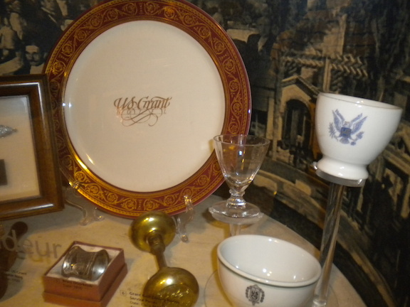 Original artifacts from the hotel