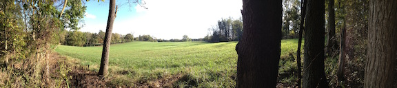 A panoramic view of the Shepherdstown Battlefield courtesy of Kevin Pawlak