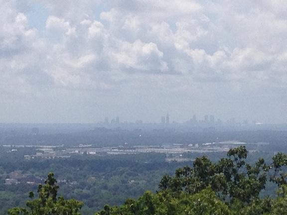 Atlanta In Distance