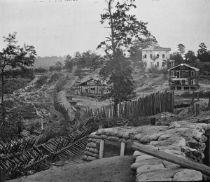 Fortifications at Atlanta