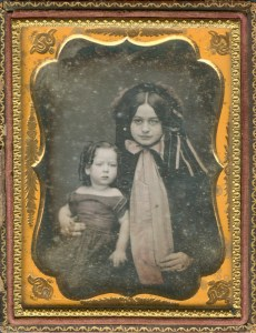 Mary Lee and her son Rob, c. 1845.
