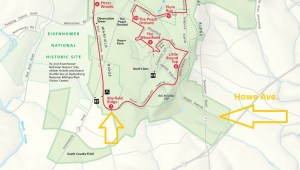 South End of Gettysburg Field