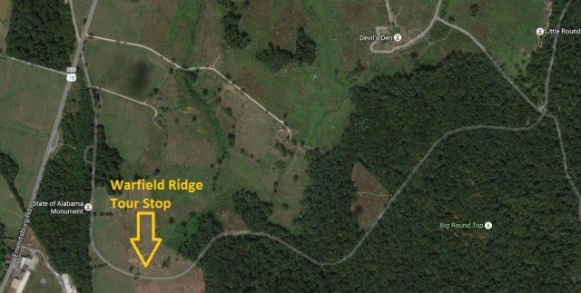 Warfield Ridge Tour Stop