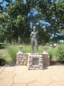 John Brown Monument at the John Brown Memorial Park and Museum, Osawatomie, KS