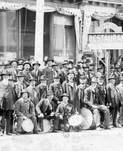 Union Veterans, Grand Army of the Republic (GAR) Drummers