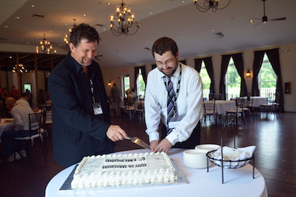 5th Anniv Cake Cutting