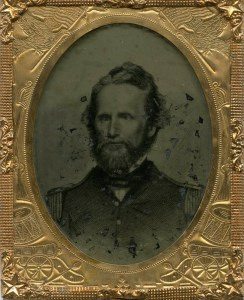 Capt. Nathaniel Lyon (later commissioned Brigadier General). Courtesy of Wilson's Creek National Battlefield.