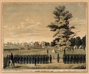 Camp Jackson. Courtesy of the Missouri Historical Society.
