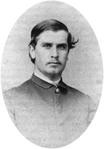 "William McKinley in 1865. The image is credited to famous Civil War photographer Mathew Brady. (Image Courtesy of ""The Life of William McKinley"")"