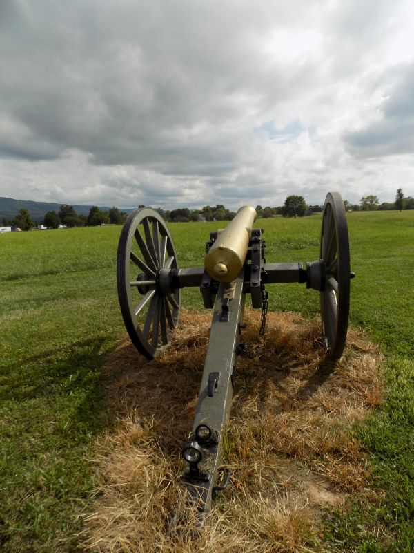 """The Cadets Cannon"" at New Market Battlefield (Photography by Sarah Kay Bierle, 2016.)"