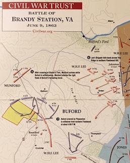 Brandy Station Trust Map March 2017