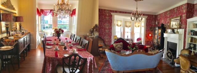 Ruark Inn-parlor and dining room