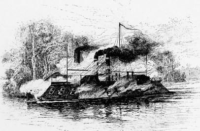 CSS Arkansas vs. USS Carondelet