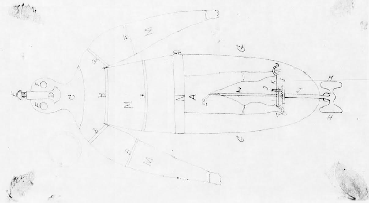 Archibald wilsons infernal submarine armor emerging civil war diagram of the submarine armor national archives pooptronica