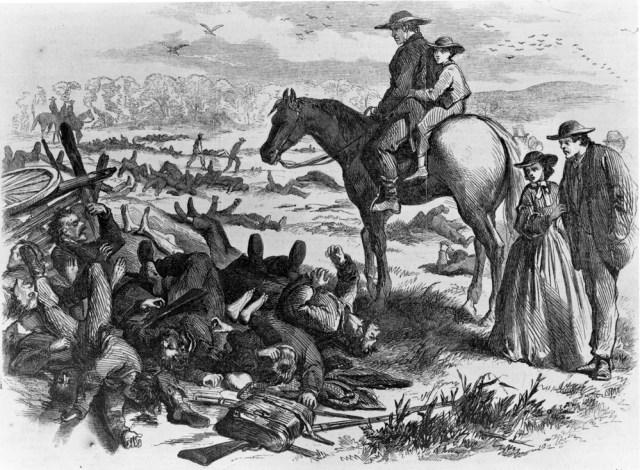 Antietam aftermath
