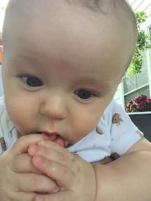 Maxwell Eating Toe