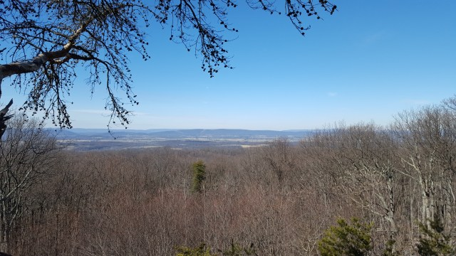 View from top of Sugarloaf
