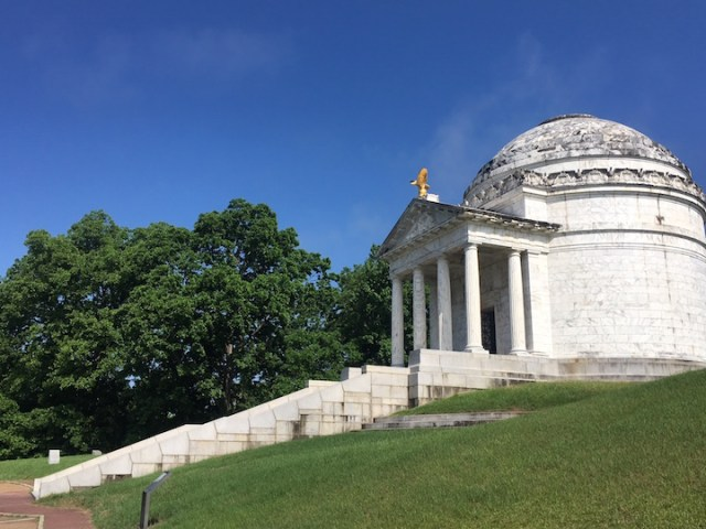 Vicksburg Illinois Monument