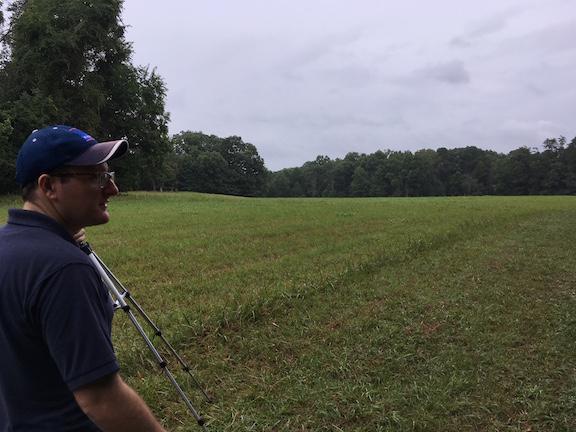 Bill Backus @ 4th Alabama Field