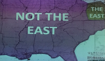 Not the East