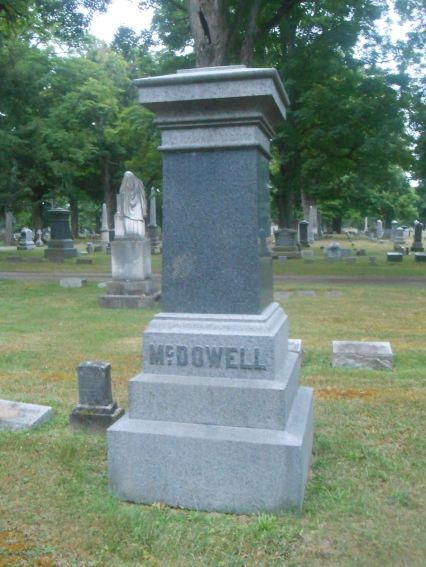 Grave of Robert M McDowell