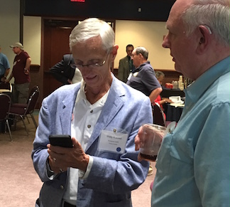 Wally Rueckel at CWRT Congress