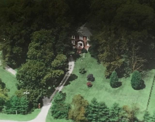 Fox House from Air