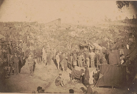 Andersonville prisoners_LOC