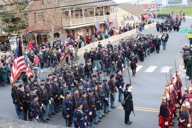 Union Troops Marching Rem Day 2019