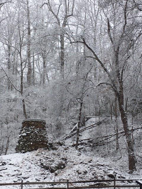Snowy Catharine Furnace