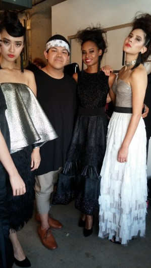 models with Patrick Kevin Francisco