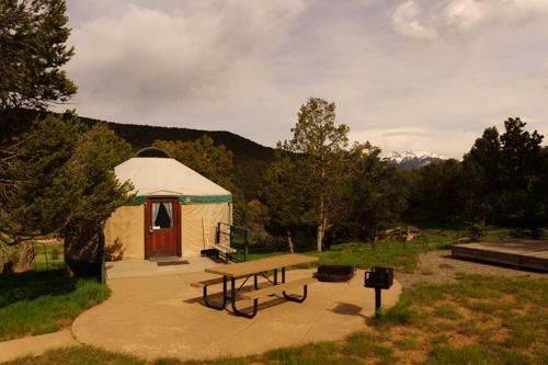 Beaver Lodge Yurt at Ridgway State Park