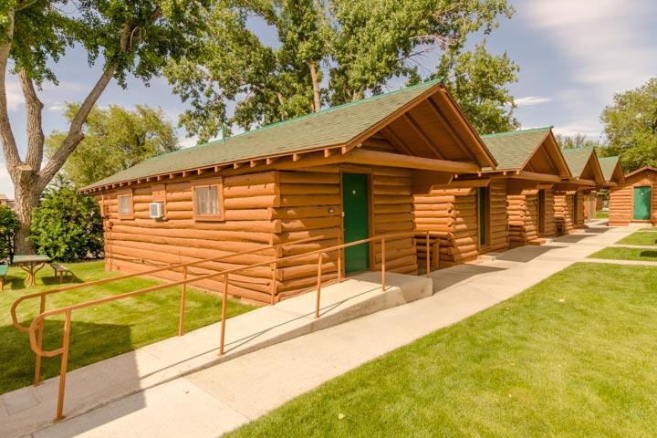 Room (cabin) 365 at Buffalo Bill Village