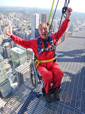 Experiencing the thrill of EdgeWalk