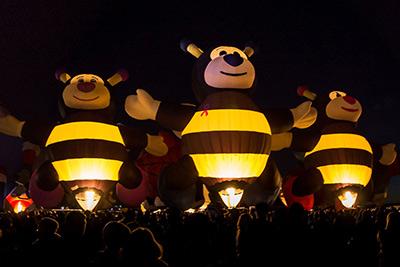 Glowdeo at the Albuquerque Balloon Fiesta