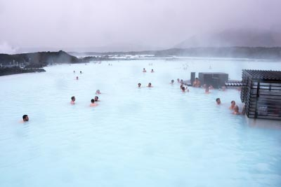 The inviting waters of the Blue Lagoon