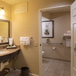 Sink in room 1251 at the Miramonte Resort