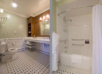 Bathroom in room 202